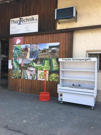 Grünspargel Verkauf